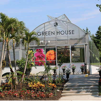 The zoo green house