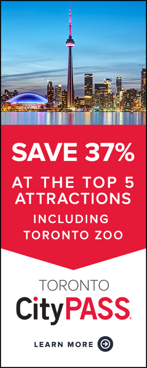 Save 36% or more at the top 5 attractions including the Toronto Zoo