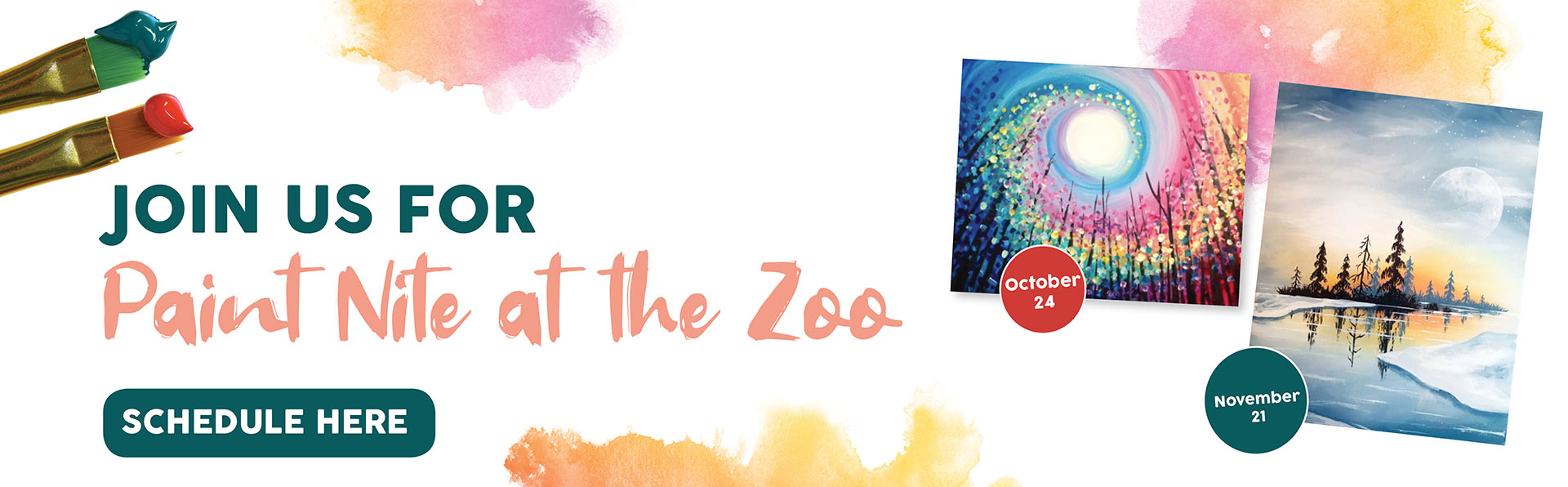 Paint Night at the Zoo Join Us