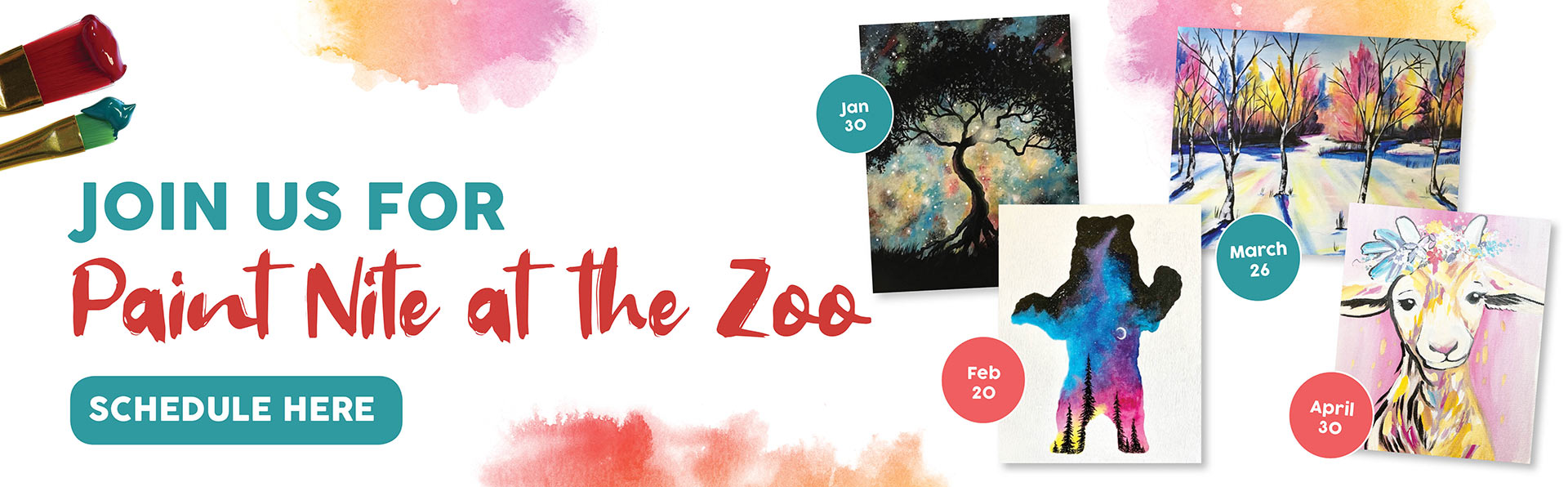 Paint Night at the Zoo