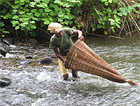 3 Traditional fishing techniques.