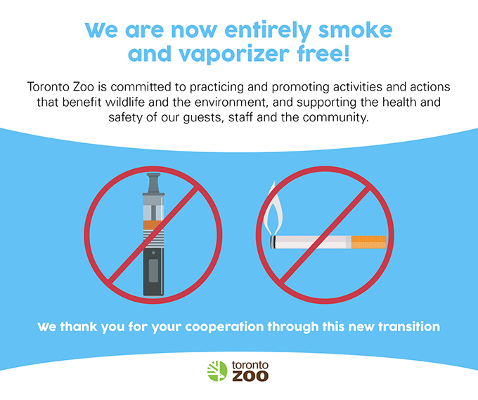 We are now entirely smoke and vaporizer free!